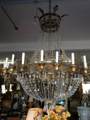 grand French chandeliers